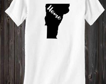 Vermont home shirt, vermont, vermont shirt, vermont pride,  vermont home, home state, vermont native