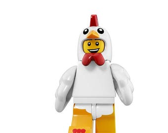 Chicken Suit Guy custom minifigure 100% Lego Compatible