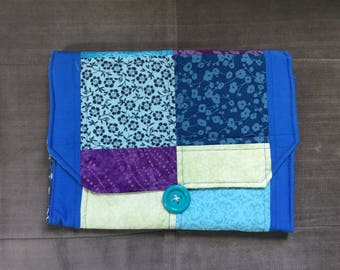 Portable Diaper Changing Pad: Violet Flower