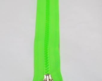 Fermeture éclair FLUO vert 20 cm