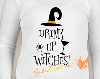 Drink up witches halloween