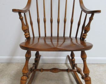 Ethan Allen Circa 1776 Rocker Rocking Chair B