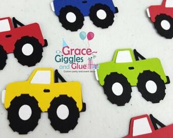 20 (2inch) Piece Monster Truck Confetti,