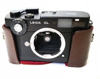 Vintage Replacement Camera Half-Case/Everready for Leica CL Rangefinder