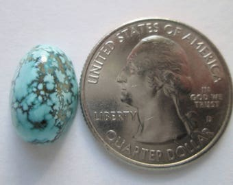 8.00 ct. 100% Natural Sierra Nevada Turquoise Cabochon Gemstone, # EJ 003