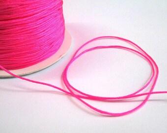 m 1 neon pink nylon string 10 mm
