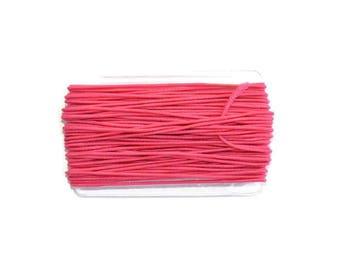 8.30 m nylon elastic 1 mm fuschia color