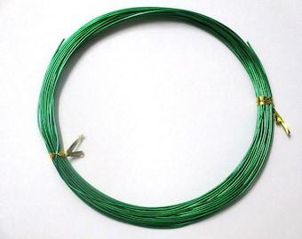 10 meters wire wheels Green 0.8 mm reel