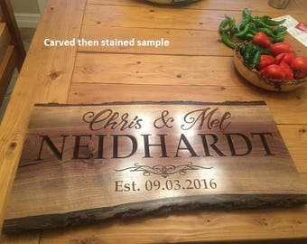 Any Custom Designed Carved Sign and 3D Engraved Sign with your design