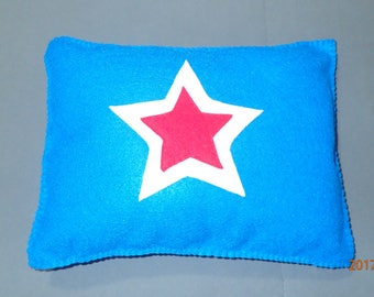 Star, felt pillow
