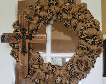 God is Good Wreath