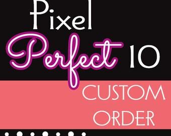1 custom change order for digital file