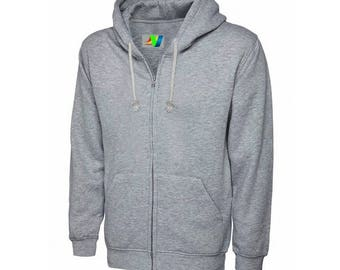 Mens outwear winter fleece hoodies slim fit Available in All Sizes