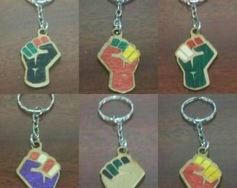 National Pride Resist/Power Fist Charm