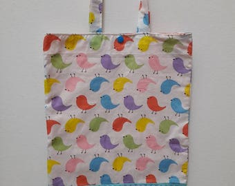 birds library bag