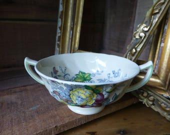 Vintage Royal Doulton The Kirkwood Two Handled Soup Bowl