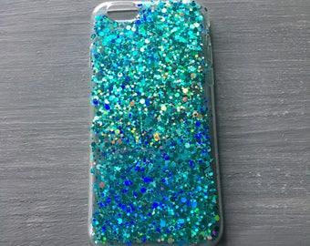 Glitter resin mobile /cell  phone case