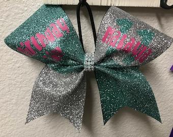 Birthday girl glitter bow