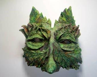 Ceramic Leaf mask