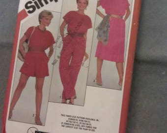 Simplicity Pattern Miss Size 10-12-14 No. 5373