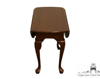 PENNSYLVANIA HOUSE Solid Cherry Drop Leaf End Table