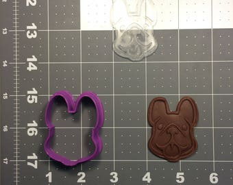 French Bulldog 102 Cookie Cutter and Stamp (Imprinted)