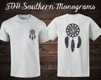 Dream Catcher Monogram Shirt