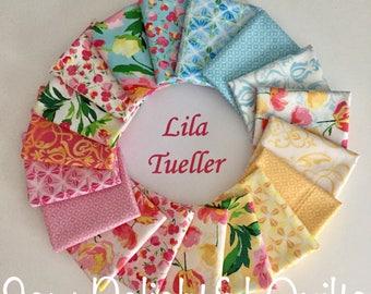 Paige's Passion - Fat Quarter Bundle - Fabric Bundle - Lila Tueller Fabric - Riley Blake Fabric - Quilting Bundle - Floral Fabric Bundle