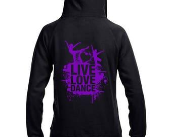 Live Love Dance Unisex Hoodie