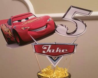 Pixar Cars Centerpiece