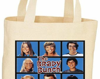 The Brady Bunch custom tote bag