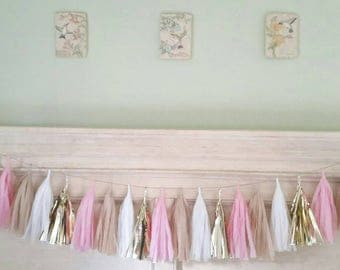 Custom Made Tassel Garland