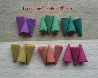 Set of 18 Incense Cones