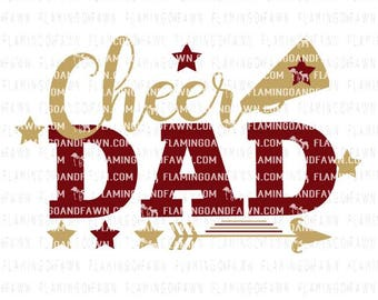 cheer dad svg, cheer svg, dad svg, svg cheer dad, cheerleading dad svg, cheerleader svg, svg files, pom pom svg, cheer dad dxf