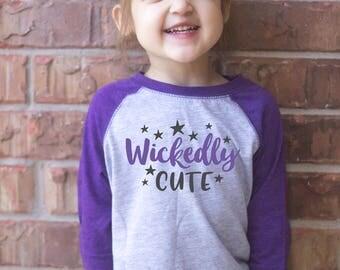 Halloween Raglan, Halloween Shirt, Cute Toddler Shirt, Cute Halloween Shirt, Monster, Cute Halloween, Funny Halloween, Cute Boy Clothes