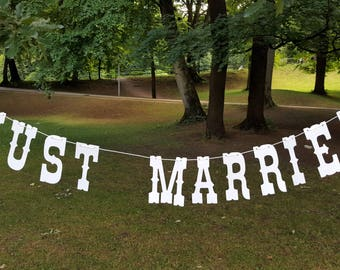 Just married bridal chain, Pennant, decoration