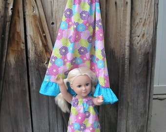 Sundress with Doll Dress to Match