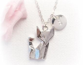 VACATION SALE Fox Necklace, fox Jewellery, fox necklace, kids necklace, fox jewellery, fox necklace, fox, best friends gift SFINFOX1