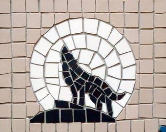 Wolf Moon Mosaic