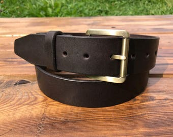 Customized Leather Belt, Laser Engraved, Brown Leather Belt, Mens Leather Belt, Womens Leather Belt, Personal, Handmade belt, Classic strap