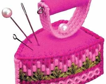 Needlework Kit by Riolis IRON PINCUSHION