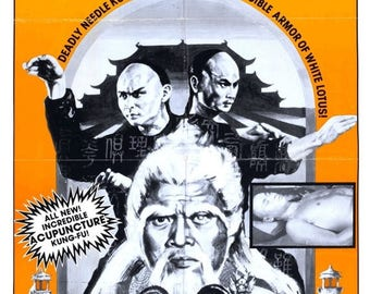 Summer Sale Clan of the White Lotus 1980 Drama/Action Movie POSTER A Shaw Brothers Presentation