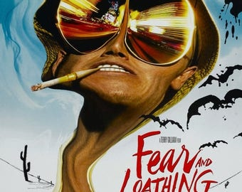 Summer Sale Fear and Loathing in Las Vegas 1998 Drama/Cult Movie POSTER Johnny Depp Benicio Del Toro