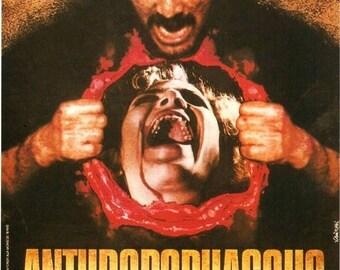 Summer Sale ANTHROPOPHAGUS Movie Poster 1980 Horror Gore