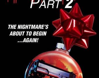 Summer Sale Silent Night Deadly Night Part 2 Movie POSTER RARE XMAS Horror