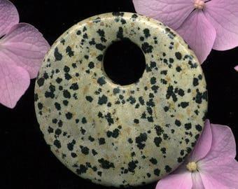 (453) Dalmatian Jasper, 48 x 48 x 8 mm