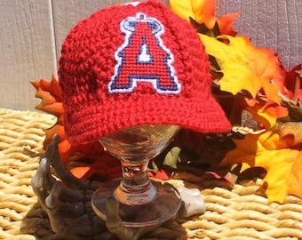 Anaheim Angels baseball hat // LA Angels of Anaheim baseball hat// Angels baby baseball hat