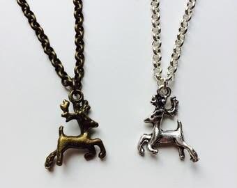 Game Of Thrones | Baratheon | Stag | Deer | Reindeer | Winter | Necklace