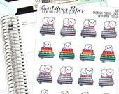 Planner Stack Stickers - Planner Meet Up Stickers - Cat Planner Stickers - Planner Stickers - 1681