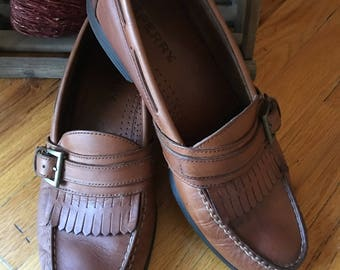 Sperry Top Sider Boat Shoes, Size 9.5